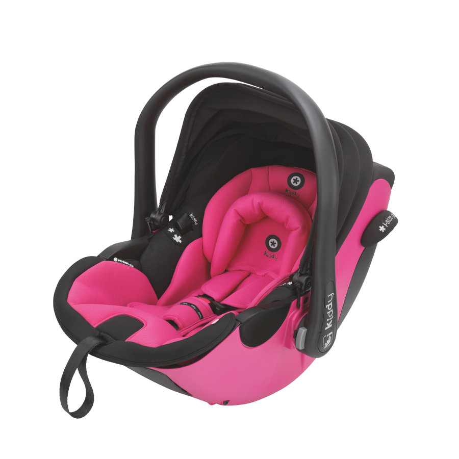 Kiddy Babyschale Evoluna i-Size Pink inklusive Isofix Base 2