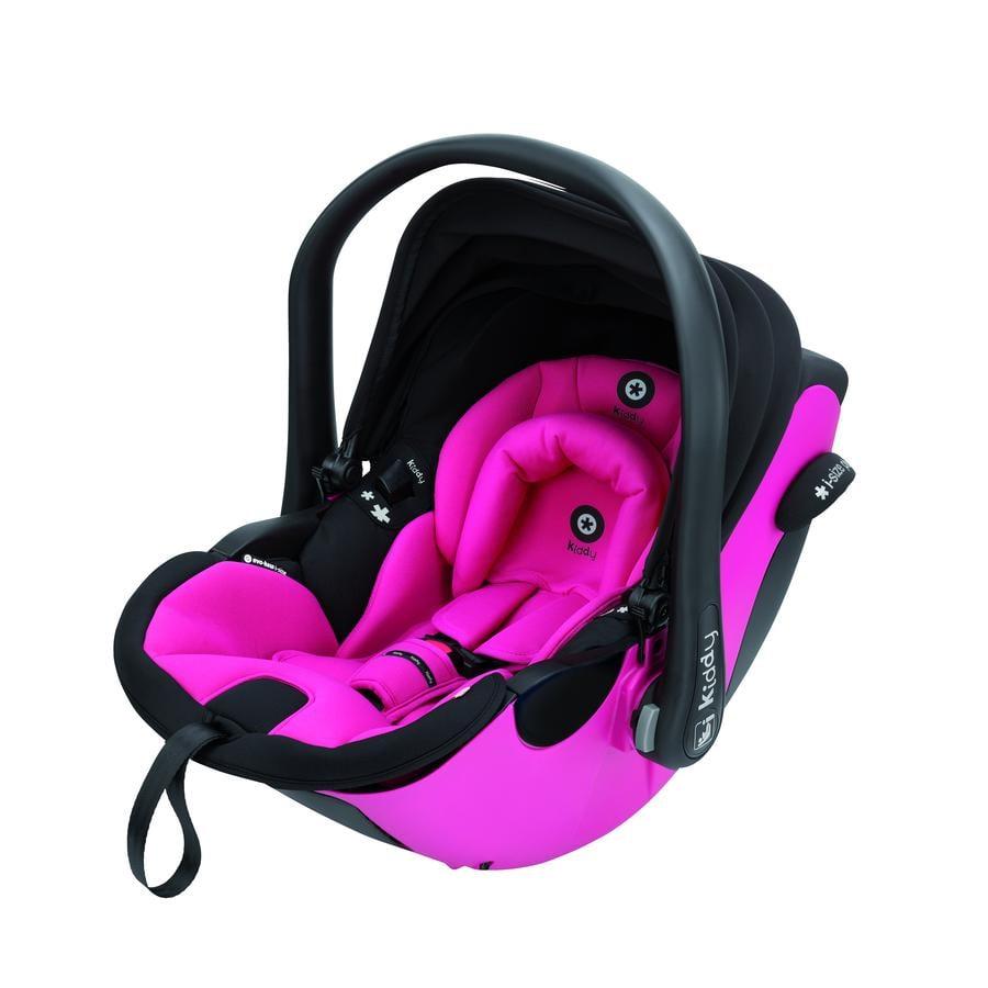 Kiddy Babyskydd Evoluna i-Size Pink inklusive Isofix Bas 2