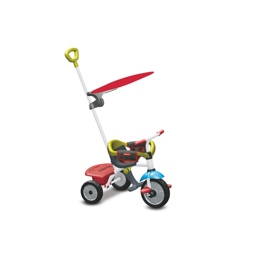 Fisher-Price® Tricycle évolutif enfant Jolly Plus, rouge