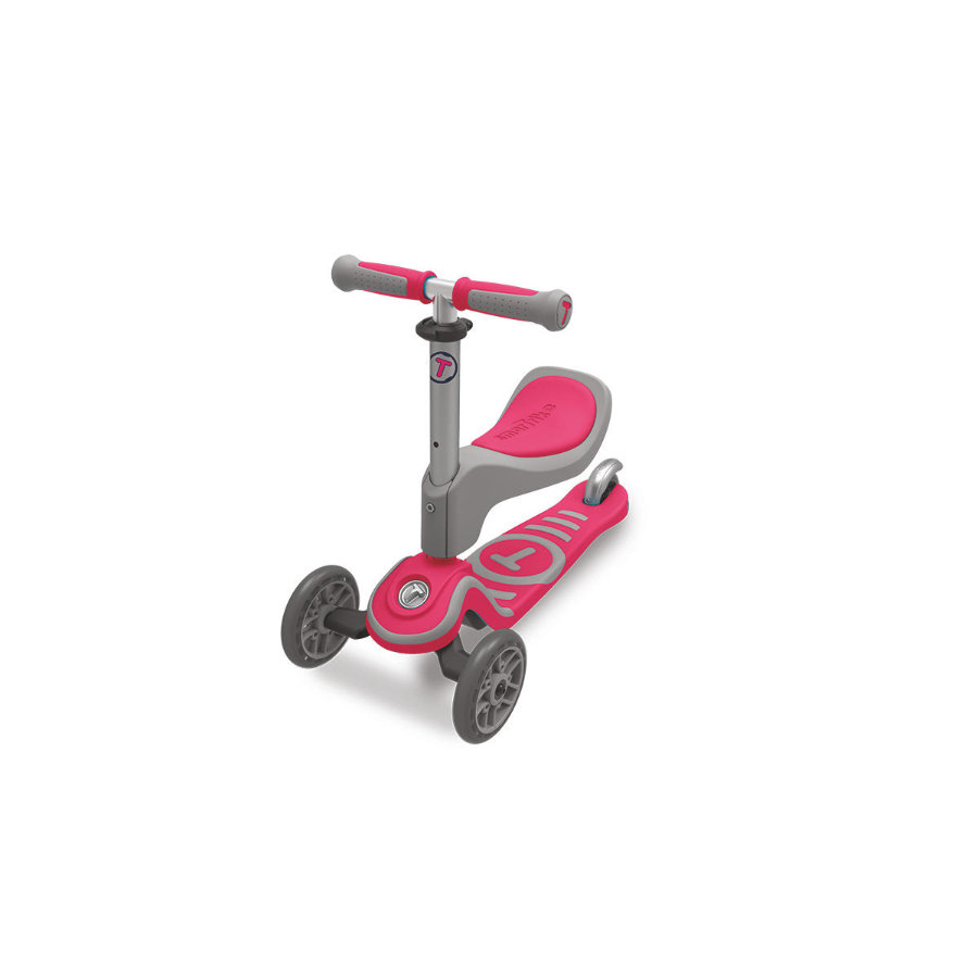 Smart Trike ® Scooter T1, grå/röd