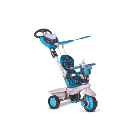 Smart Trike ®  4-in-1 Trehjuling Dream, blå