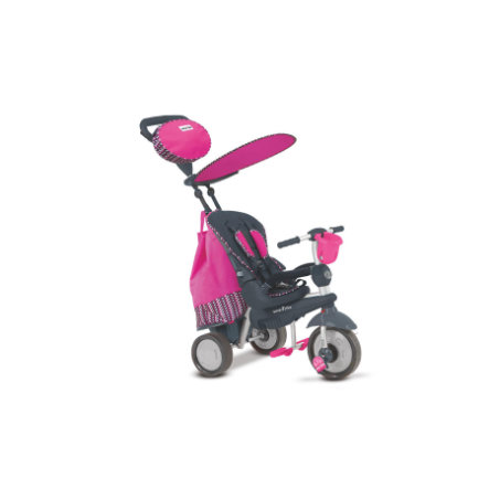 Smart Trike ® 5-in-1 Trehjuling Splash/Dazzle, pink