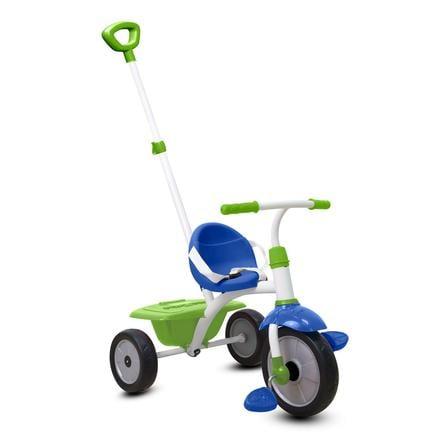smarTrike® Triciclo con manico Fun, blu