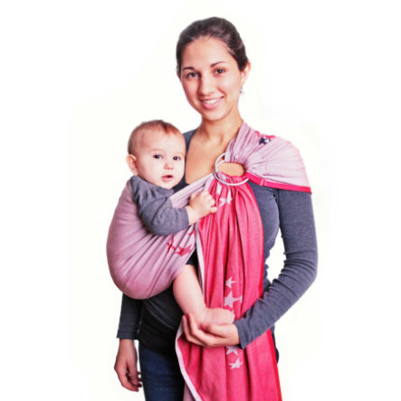 Hoppediz Ring-Sling Los Angeles Rot