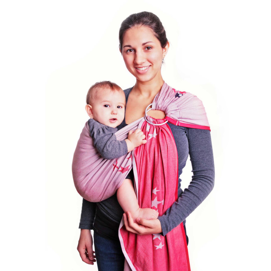 HOPPEDIZ Ring-Sling Los Angeles rojo