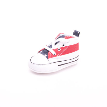 CONVERSE Halbschuh Stars & Bars white/blue/red