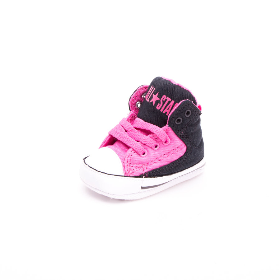 CONVERSE Girls Halbschuh First Star High Street mod pink/black/white