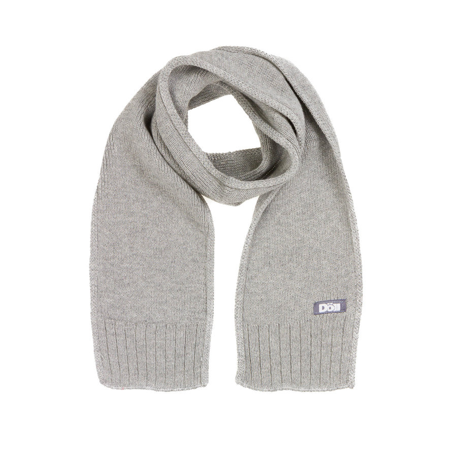 Döll Boys Strickschal light grey melange