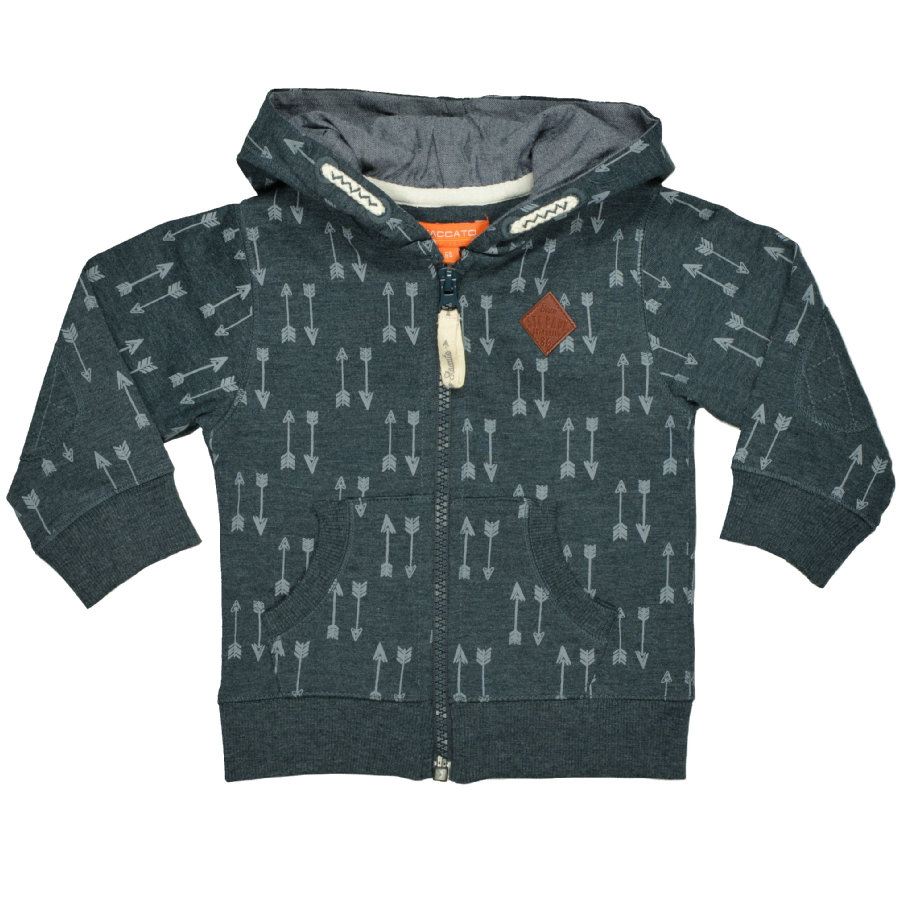 STACCATO Boys Sweatjacke forest melange