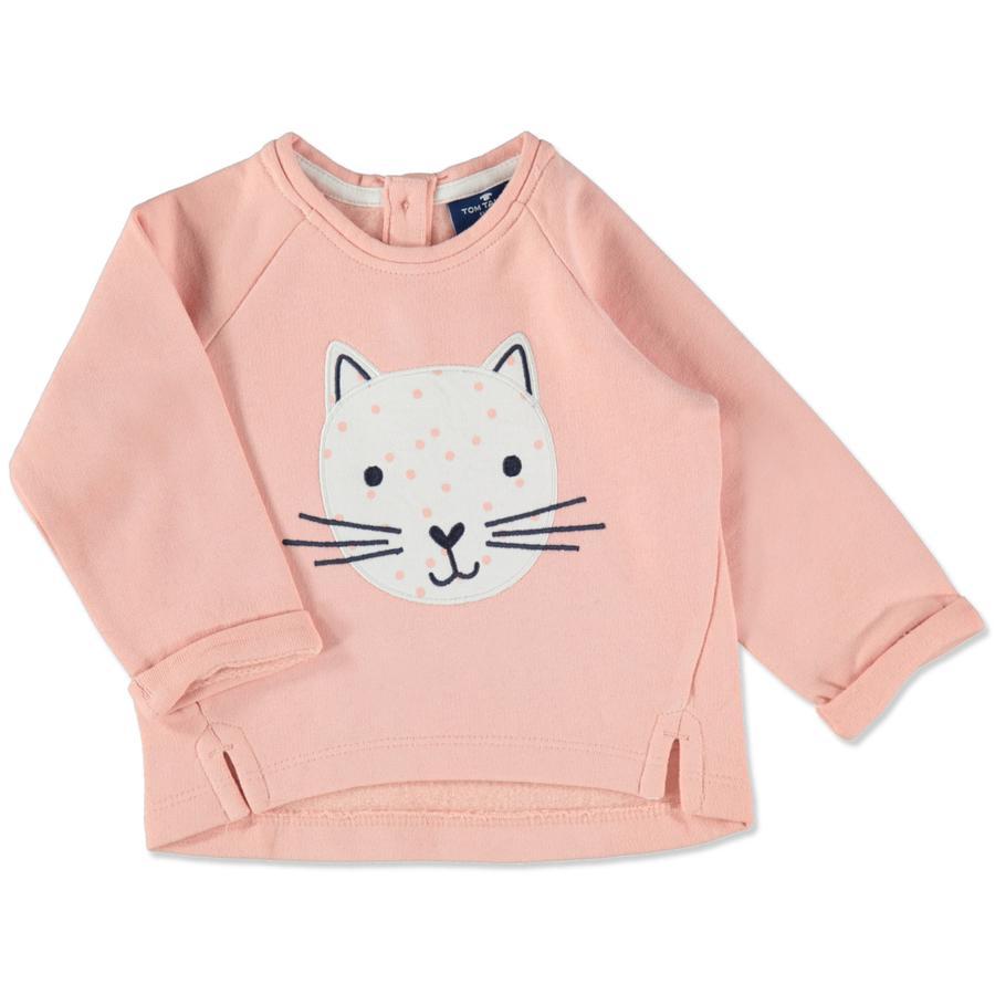 TOM TAILOR s Sweat-shirt sorbet rosé TOM TAILOR Girl