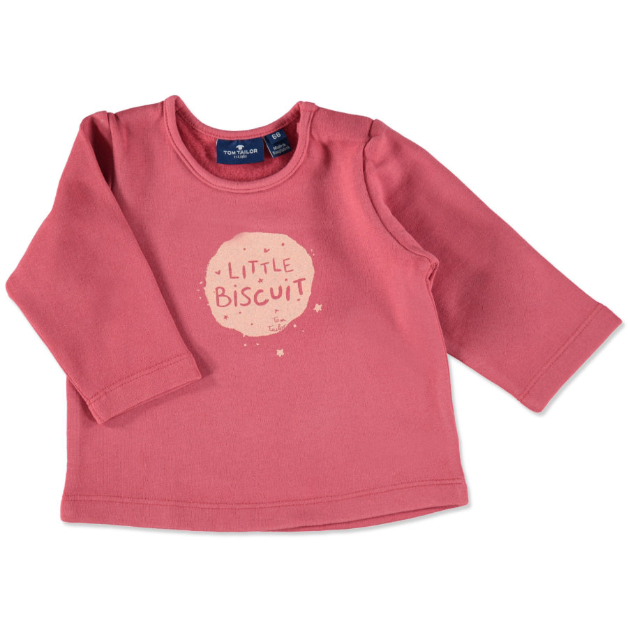 TOM TAILOR Girls Sweatshirt berry red