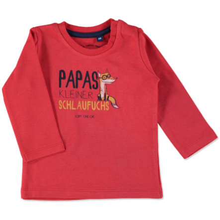 TOM TAILOR Boys Longsleeve red mars