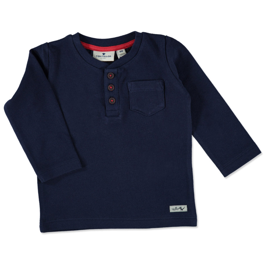 TOM TAILOR Boys Longsleeve true dark blue