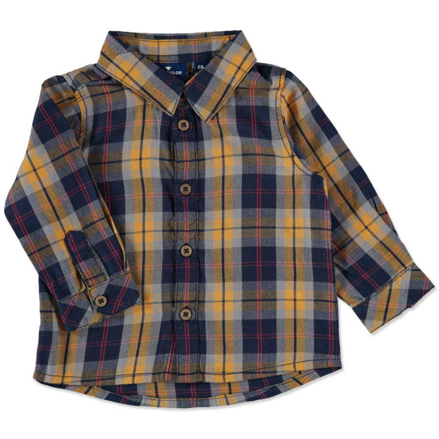 TOM TAILOR Boys Shirt echt donkerblauw