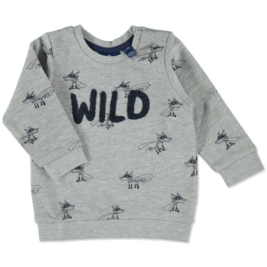 TOM TAILOR Boys Sweatshirt medium grey melange