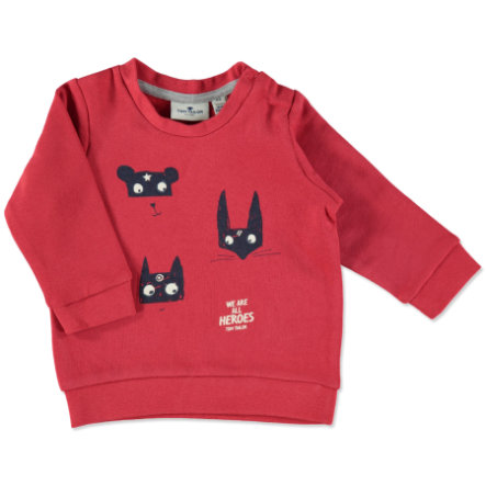 TOM TAILOR Boys Sweatshirt red mars