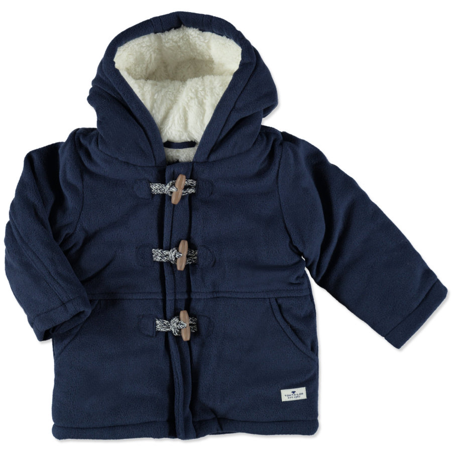 TOM TAILOR Boys Fleecejacke dark blue