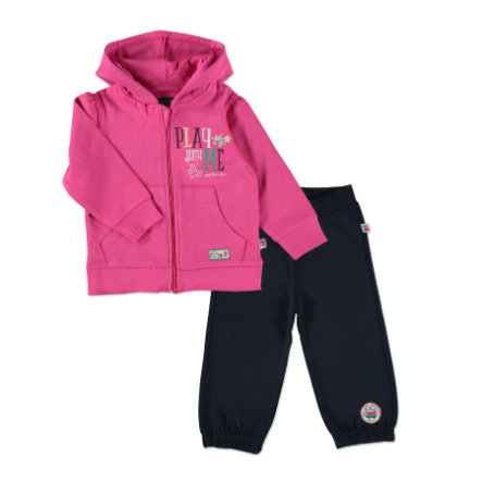 BLUE SEVEN Girls Sweat-Set pink