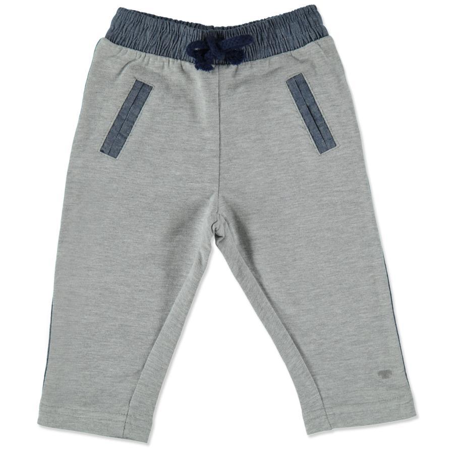 TOM TAILOR Boys spodnie dresowe średnioszare melanże