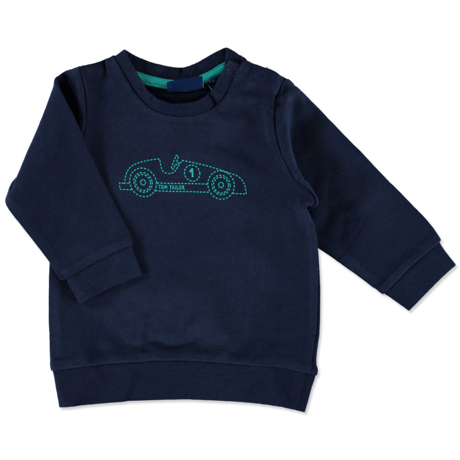 TOM TAILOR Boys Sweatshirt true dark blue