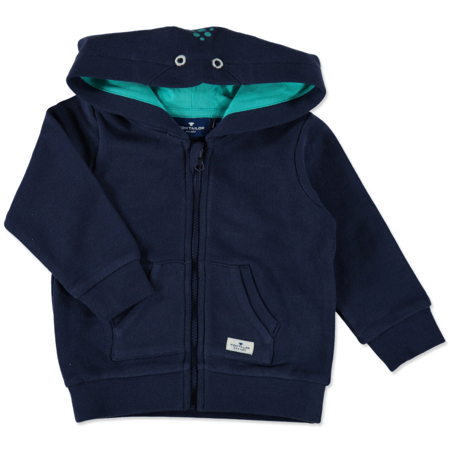 TOM TAILOR Boys Sweatjacke true dark blue