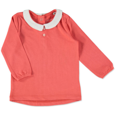 TOM TAILOR Girls Longsleeve plain red