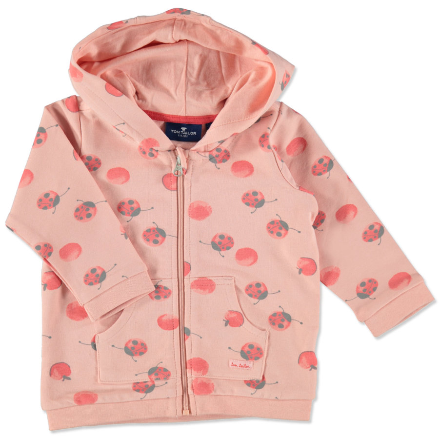 TOM TAILOR Girl 's sweat jacket rose sorbet
