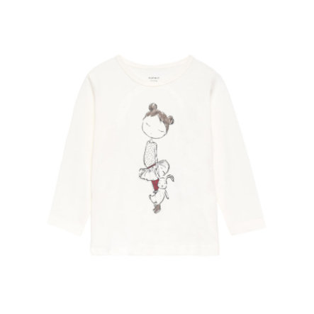 name it Girls Longsleeve Kathrine snow white