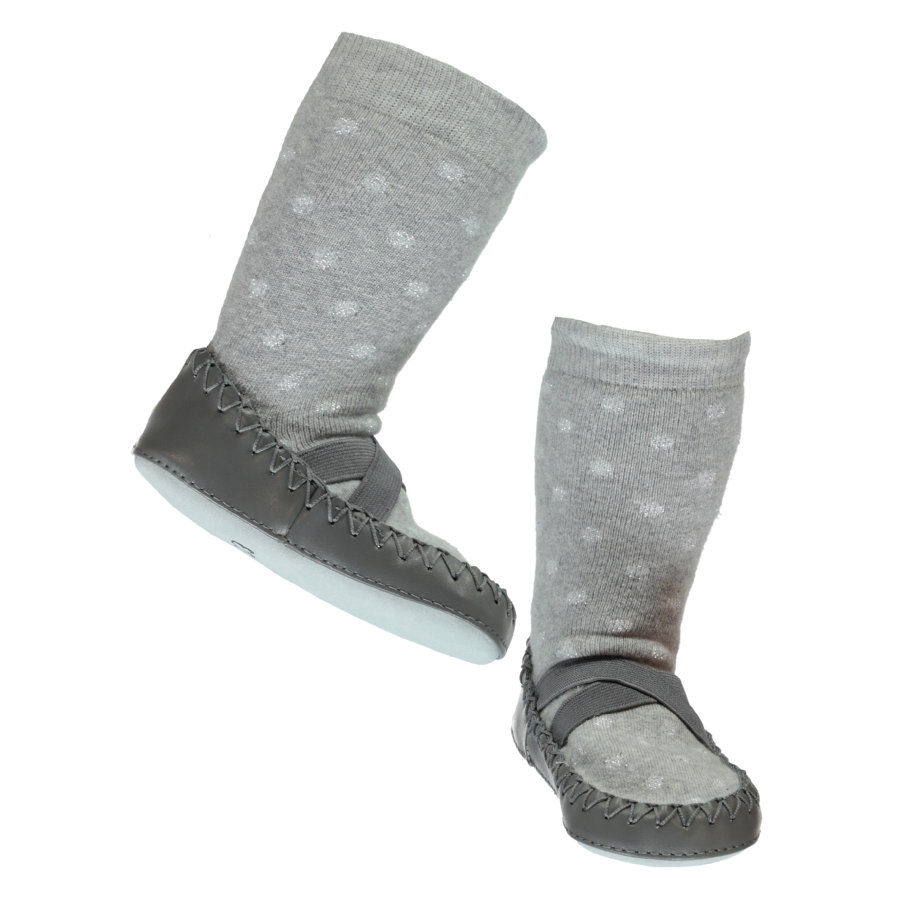 name it Ballerines gris mélangé