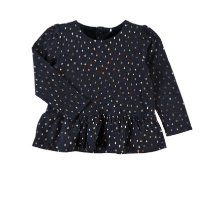 name it Girls Longsleeve Rosa dress blues