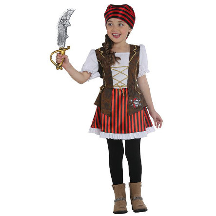 Rubies Costume de Carnaval Pirate fille