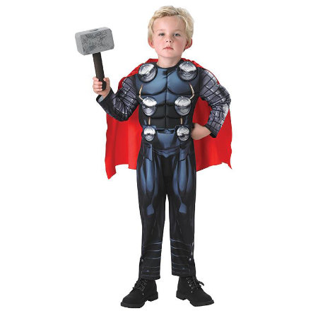 RUBIES Costume de Carnaval Thor Deluxe Avengers Assemble
