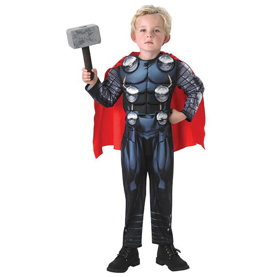 Rubies Costume di carnevale Thor Deluxe Avengers Assemble