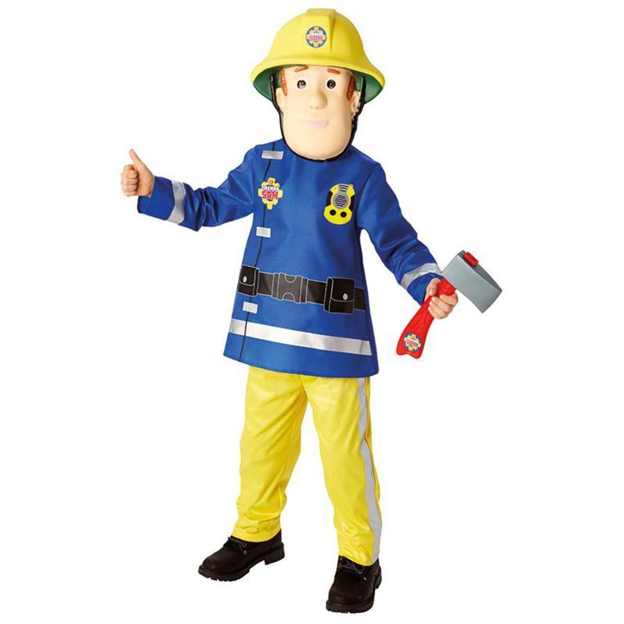 RUBIES Costume de Carnaval Sam le pompier Deluxe