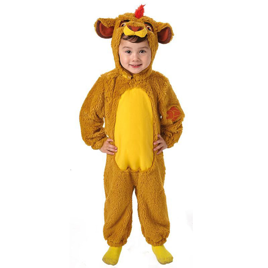 Rubies Maskeradkostym Furry Lion