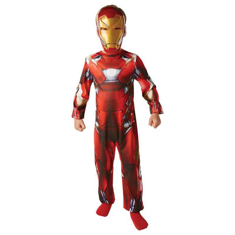 Rubies Costume di carnevale Iron Man Classic Civil War