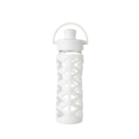 lifefactory drikkeflaske Active Flip Top Cap optic white 475 ml