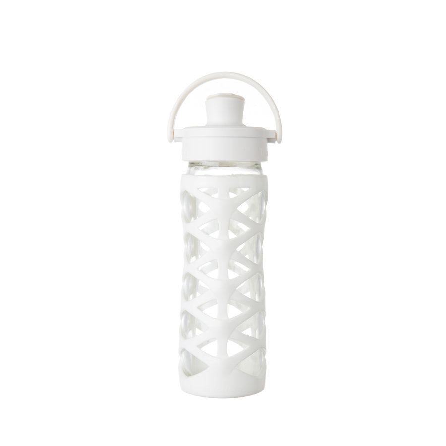 lifefactory Láhev Active Flip Top Cap optic white 475 ml