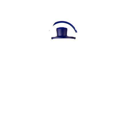 LIFEFACTORY Juomapullo Active Flip Top Cap, 475 ml, Sapphire