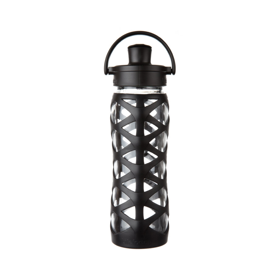 lifefactory drikkeflaske Active Flip Top Cap onyx 650 ml