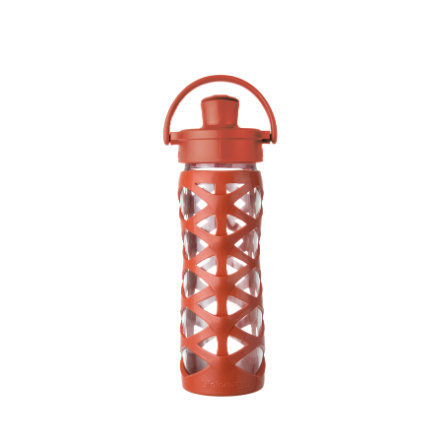 LIFEFACTORY Tappo per bottiglia Active Flip da bere Gold en Gate orange 475 ml