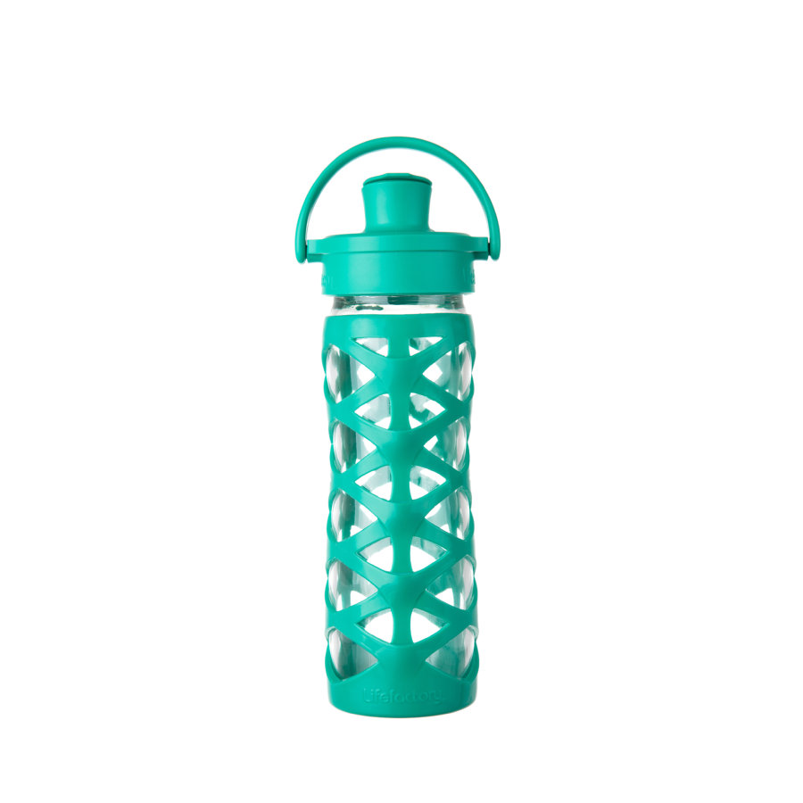 lifefactory Láhev Active Flip Top Cap aquatic green 475 ml