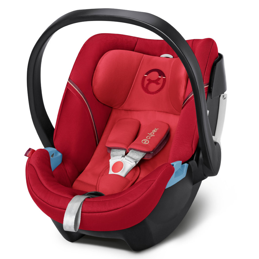cybex GOLD Babyschale Aton 5 Infra Red-red