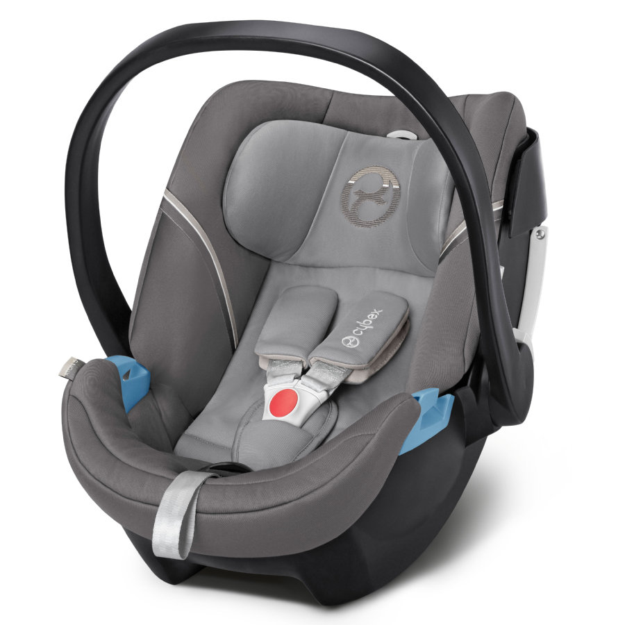 cybex GOLD Babyschale Aton 5 Manhattan Grey-mid grey