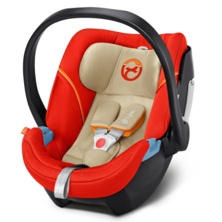 cybex GOLD Babyskydd Aton 5 Autumn Gold-burnt red
