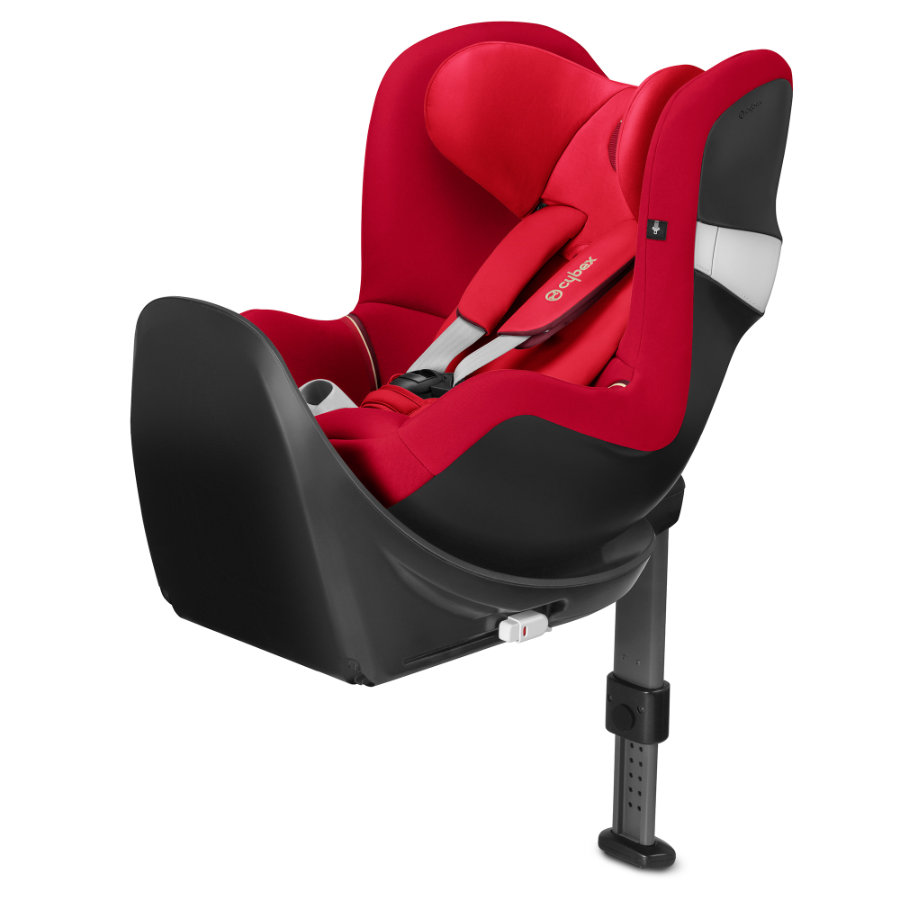 cybex GOLD Kindersitz Sirona M2 i-Size mit Base Infra Red-red