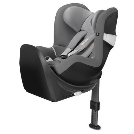 cybex GOLD Kindersitz Sirona M2 i-Size mit Base Manhattan Grey-mid grey