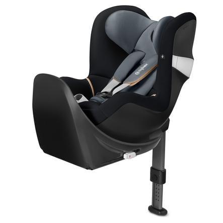 cybex GOLD Kindersitz Sirona M2 i-Size mit Base Graphite Black-dark grey