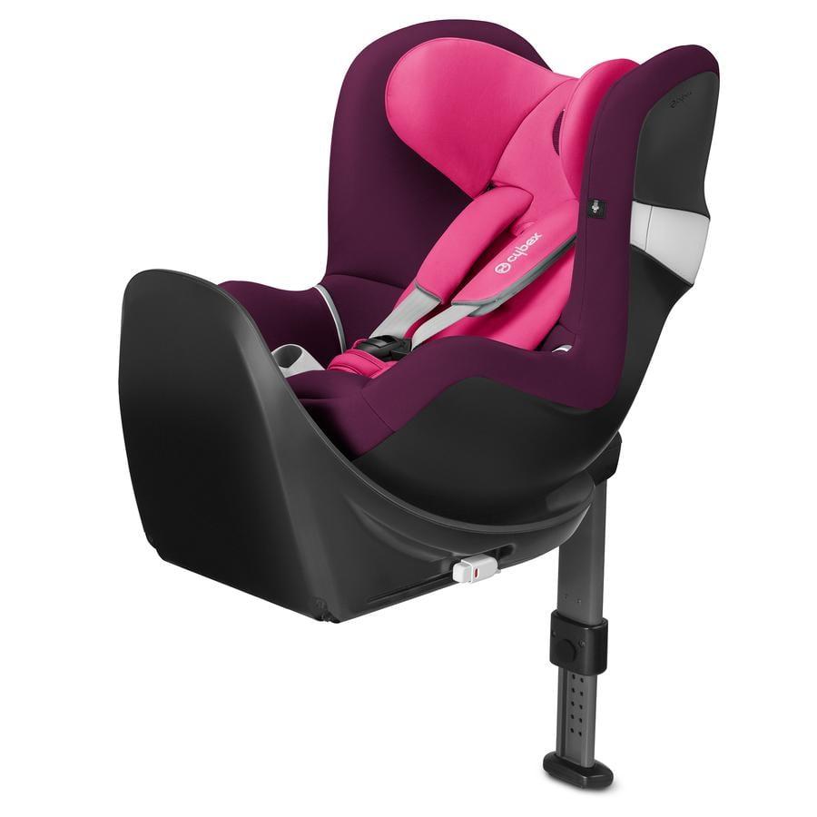 cybex Bilbarnstol Sirona M2 i-Size Mystic Pink-purple inklusive bas