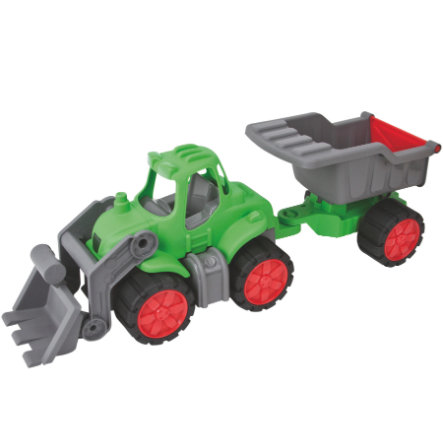 BIG Power Tractor + Dump - Trailer